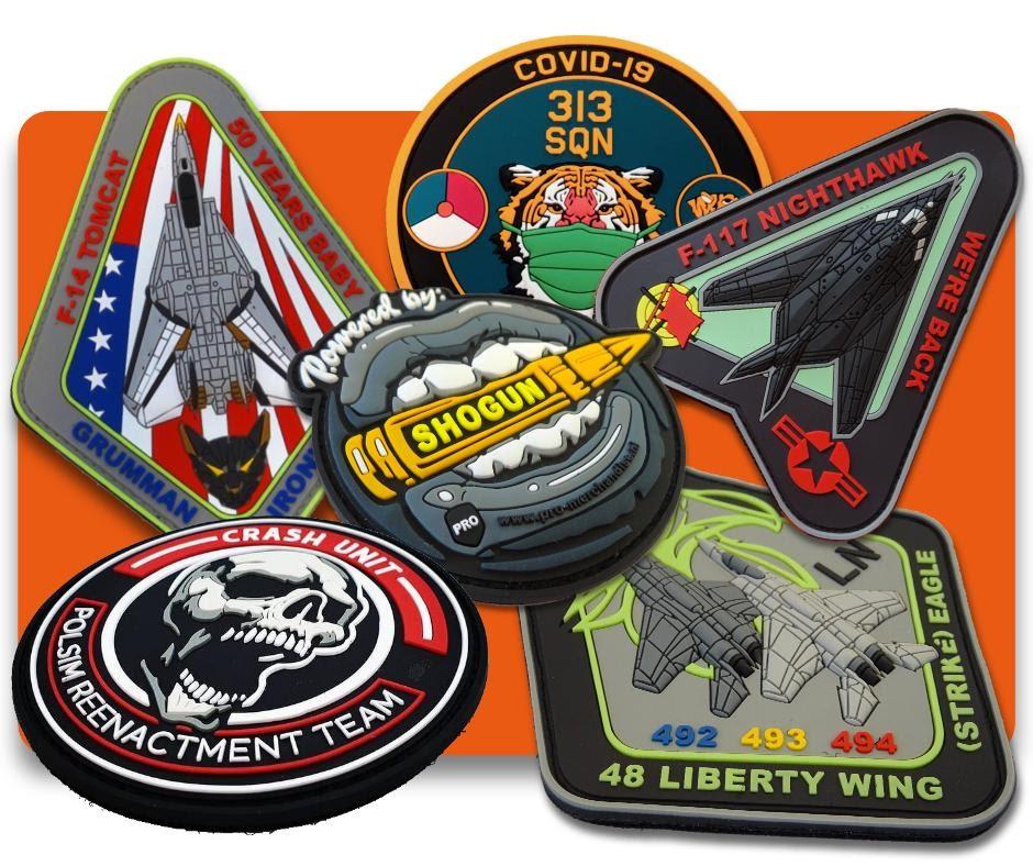 pvc emblemen